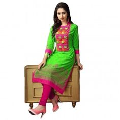 Embroidered Kurtis Online - Buy Embroidered Kurti for women @ upto Off from Latest Collection - IndiaRush Girls Kurti, Ethnic Kurti, Embroidered Kurti, Fashion Hub, Kurtis, Absolutely Gorgeous, Style Icons, Personal Style, Sari