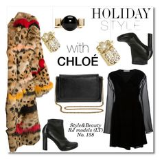"""""""HOLIDAY STYLE with CLOÉ!"""" by rasaj ❤ liked on Polyvore featuring Chloé and Kurt Adler"""