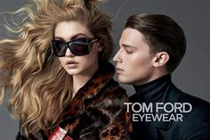 a25da3227 Patrick Schwarzenegger - son of Arnold - appears in his first fashion  campaign for Tom Ford alongside model Gigi Hadid.