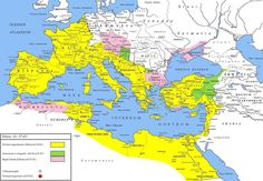 The Roman Empire under Tiberius,the Second Emperor of Rome 14 AD - 37 AD. (Photo Credit: Roman Empire History)
