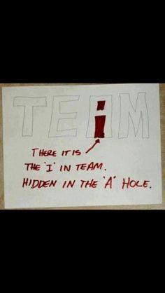 i in team