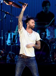 Adam Levine + Nick Jonas Take the Stage for We Can Survive