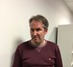 Day 11 - Gaz has got his competitive face on. He is very happy to be supporting such a great cause like MOvember! Movember 2016, Men Sweater, Face, Happy, Mens Tops, Fashion, Moda, La Mode, Men's Knits