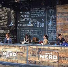Cafe Nero Heathrow Airport