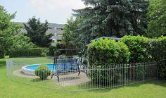 Der Zaun ist super! Das aufstellen hat nur ca. 2 Stunden gedauert. Jetzt ist der Pool kindersicher. http://www.teichzaun.de/anneau-Datenblatt-115.php