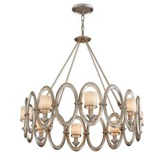 Buy the Corbett Lighting Satin Silver Leaf Direct. Shop for the Corbett Lighting Satin Silver Leaf Embrace 8 Light Wide Chandelier with Glass Shades and save. Hanging Light Fixtures, Pendant Light Fixtures, Hanging Lights, Pendant Chandelier, Chandelier Lighting, Leaf Pendant, Chandeliers, Troy Lighting, Modern Lighting