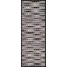 "Trent Austin Design Dakota Gray Outdoor Area Rug Rug Size: Runner 2'2"" x 6'"
