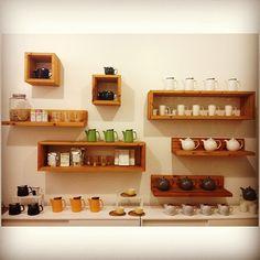 #tealish #summer #tea #accessories #shelves