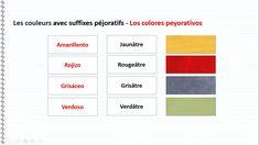cours d espagnol | cours d'espagnol gratuit les couleurs en espagnol