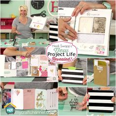 Heidi Swapp: Project Life Overview REVEALED! The brand new Heidi Swapp Project Life Collection COMING SOON! For