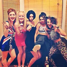 Spice Girls Group Halloween Costume @Angelica Brochero @Adrien Fairweather umm can we do this????