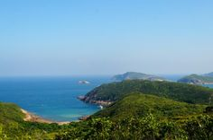 La costa de Hong Kong