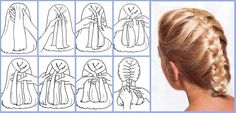 How to Quickly and Easily Make French Braid Your Own Hair