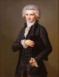 Maximilien de Robespierre - Pierre Roch Vigneron (french, 1789-1872) formely believed to be a copy after the pastel drawing by Adélaide Labille-Guiard