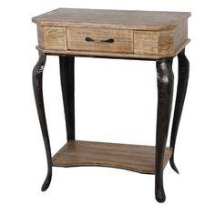 1 Drawer Nightstand from Wayfair.ca Rustic style nightstand