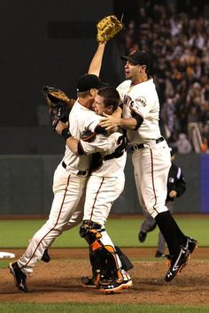 Cain, Buster, and Belt.  PERFECT GAME for Cain!!