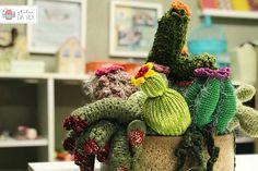 Crochê, crochet, cactos, decoração