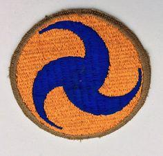 Khaki Border Pinwheel Original WW2 Patch US Army Air Force GHQ Uniform Insignia | eBay