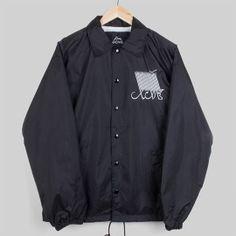 XCVB Script Jacket - Black | MR ALLEN | MR ALLEN