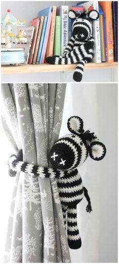 Free Crochet Thandi The Crochet Zebra Pattern