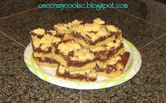 One Crazy Cookie: Tried and True: Simple Fudge Bars