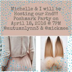 Party Ladies!! April 18th, 7pm PST! Theme TBD Theme not yet decided! I am looking for closets that follow Poshmark guidelines and who've never had a Host Pick! Tag me if you or someone you know is deserving of a Host Pick and had a beautiful closet! Thanks ladies for all of your continued support! Love you! ❤ Free People Tops
