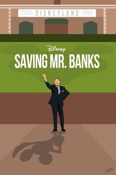 Saving Mr. Banks minimalist poster