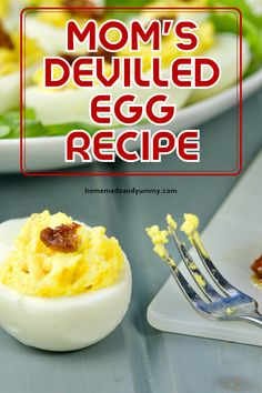 Always a party hit. The ultimate devilled egg recipe combining bacon and tomato. Perfect any time of the day. #homemadedevilledeggs #classicdevilledeggs #hardboiledeggs #partyfood