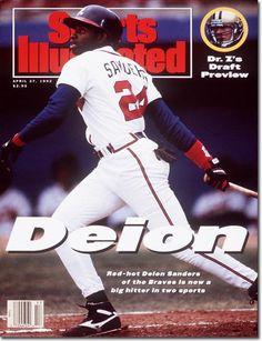 Deion Sanders, Baseball, Atlanta Braves