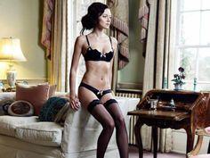 @Bigshot360 Magazine @Lucile Hecht #lingerie