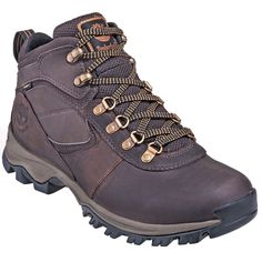 Timberland Boots and Shoes Men's TB02730R 242 Brown Waterproof Leather