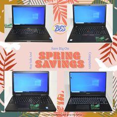 Spring Savings on Laptop PC