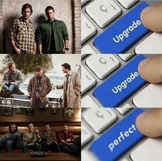Funny Supernatural Posts That Remind You It's The Best Show Ever (Episode Sherlock, Supernatural Destiel, Castiel, Crowley, Spn Memes, Winchester Brothers, Star Wars, Superwholock, Best Shows Ever