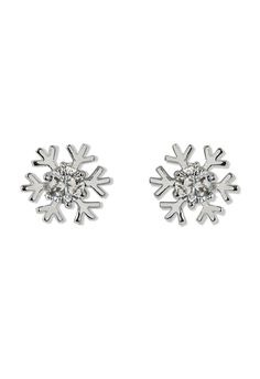Snowflake Crystal Earrings - Earrings - Accessory - Retro, Indie and Unique Fashion