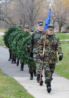 ae0174f3bc3 The Wreaths Across America ceremony hosted by the Civil Air Patrol took  place Dec. 15 at Veterans Park. Story
