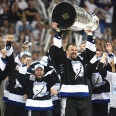 Former Maple Leafs forward Dave Andreychuk, who finally won a Stanley Cup in Tampa Bay. says Toronto looked past the Los Angeles Kings when they thought they had a date with the Montreal Canadiens in the 1993 Stanley Cup final. Hockey Goal, Hockey Teams, Tampa Bay Lighting, Bay Sports, Hockey Pictures, Toronto Star, Stanley Cup Champions, Los Angeles Kings, Football