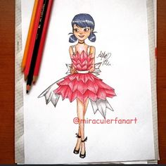This Marinette's desings and my desing combined❤