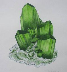 Olivenite with Chenevixite