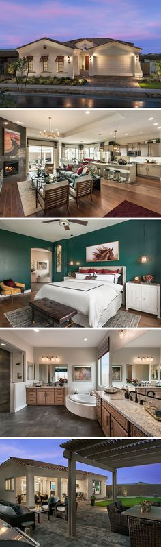 Decorating ideas from David Weekly Homes