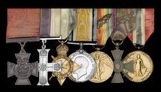 Lance Corporal, War Medals, 25 June, Sand Bag, Crosses, United Kingdom, Campaign, British, Victoria