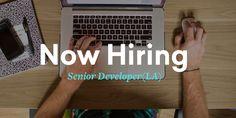 We're hiring at Brains on Fire LA! #BrainsOnFire #BOFLA #nowhiring #seekingmorebrains #SeniorDeveloper