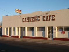 "Carmen's Cafe in Marfa, Texas - a relic of what the town used to be before it became ""trendy"" #bigbend #westtexas"