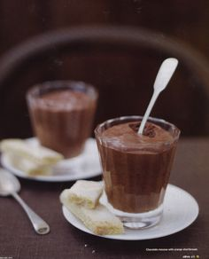 Chocolate Caramel Mousse - Date Night Recipes — Dishmaps