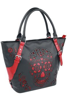 Love the concept w red and black and skull just would be more in love if it was a regular skull instead of sugar skull