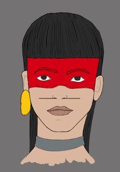 Woman-WIP Nº2  Laboratorio de diseño : Ilustración  Adobe Illustrator + Adobe Photoshop Pereira-Risaralda- Colombia  DI.Santiago Luna  #barvitý, #bocetacion, #cool, #creative, #desing, #Foto #realismo, #héroes #fun #see, #illustration, #knowing.#boy, #sketch, #smile, #Woman