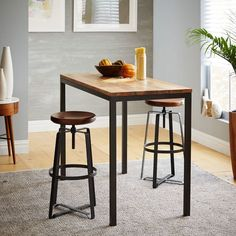 Box Frame Counter Table – Wood