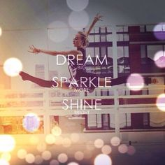Nastia Lukin: Dream BIG. Sparkle MORE. Shine BRIGHT. // quotes // // inspiration // // gymnastics // // love //