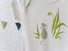 Little Mouse Organic Onesie: So cute!