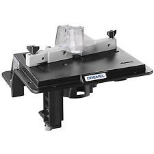 Dremel Shaper/Router Table 231  Adjustable Fence Rotary Tool Slot Groove Sand