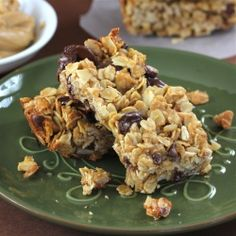 Peanut Butter Granola Bars... Celebrating National Peanut Butter Lover's Day!